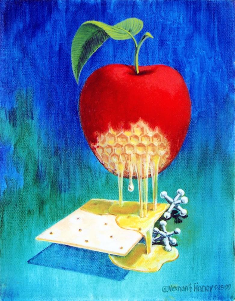 Cracker Jacks and Apple Honey