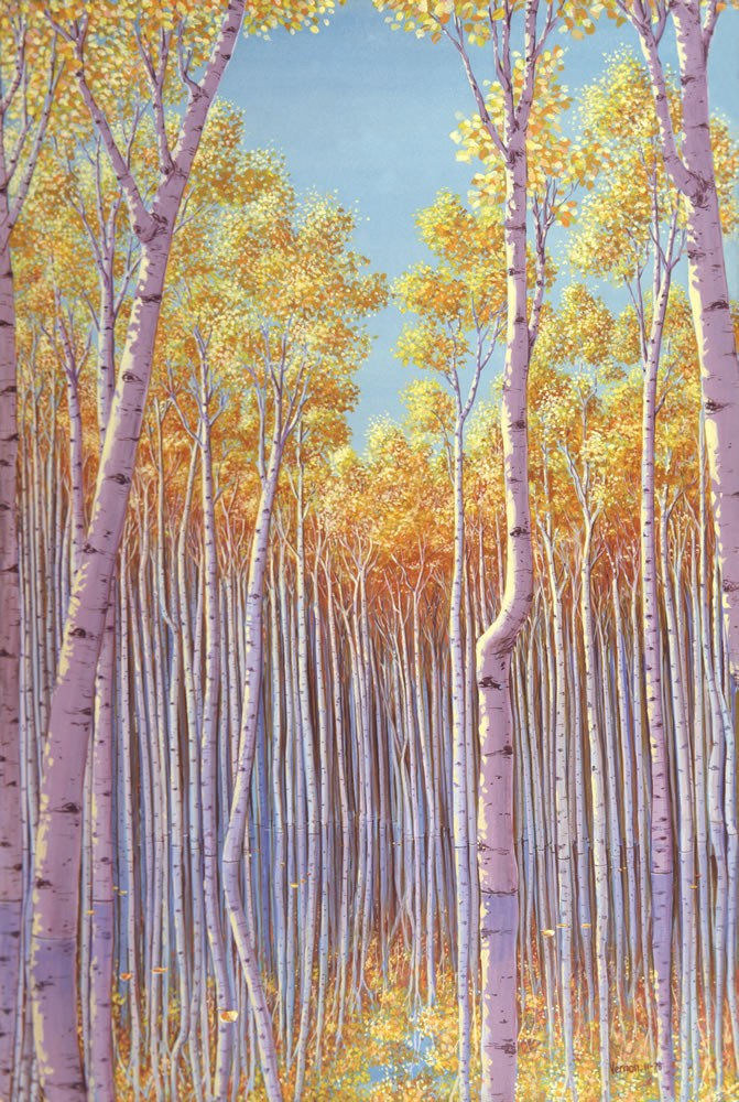 Aspens (Reflected)